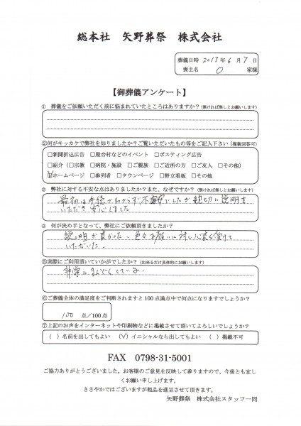 太田家2アンケート