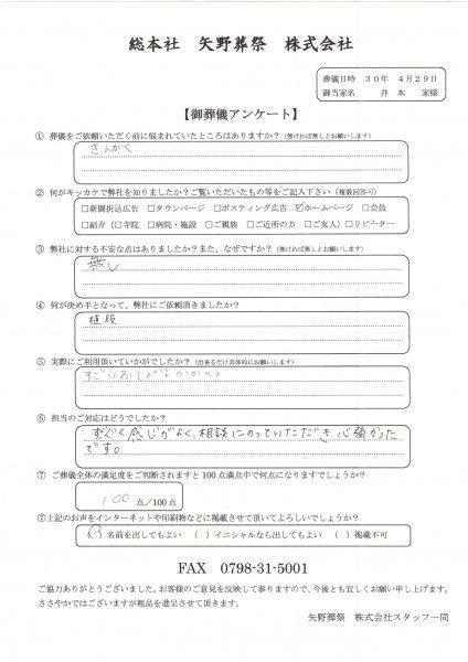 井本家アンケート20180429