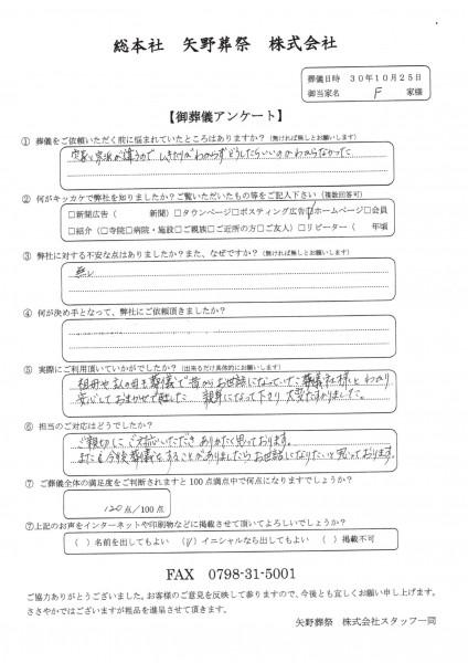 20181025福田家アンケート